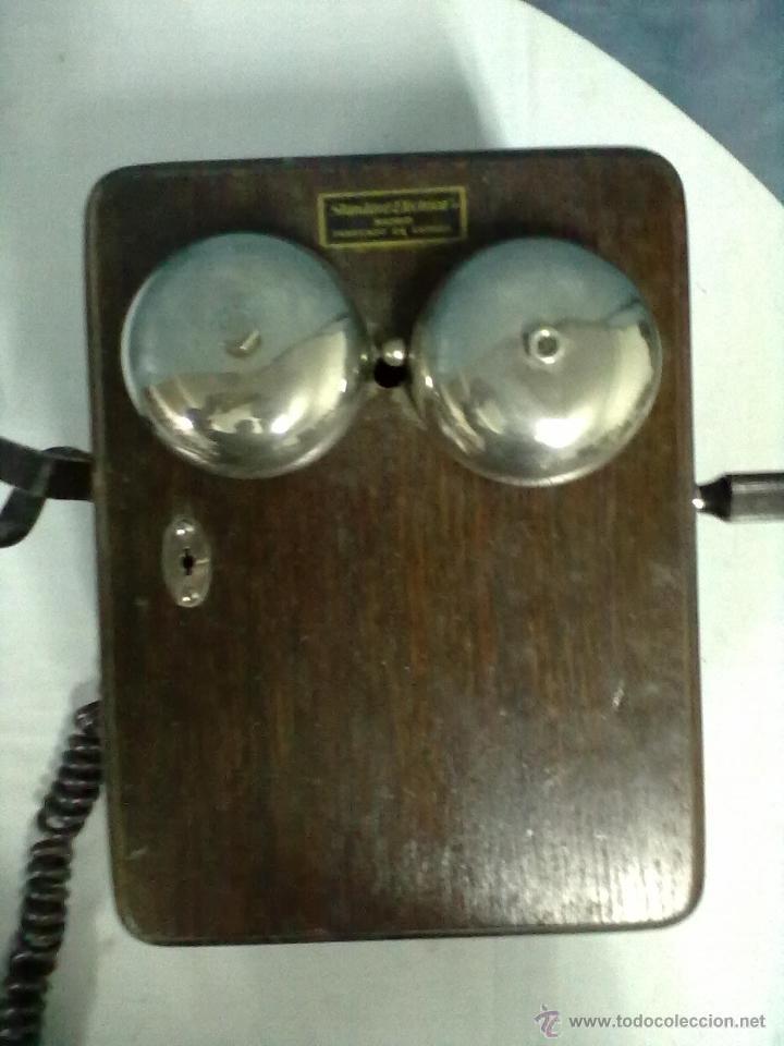 Teléfonos: TELEFONO ESTACION TREN STANDAR ELECTRICA MADRID MAGNETO FERROCARRIL - Foto 2 - 53903128