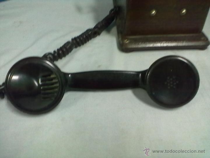 Teléfonos: TELEFONO ESTACION TREN STANDAR ELECTRICA MADRID MAGNETO FERROCARRIL - Foto 3 - 53903128