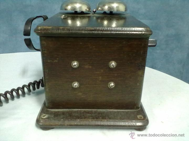 Teléfonos: TELEFONO ESTACION TREN STANDAR ELECTRICA MADRID MAGNETO FERROCARRIL - Foto 4 - 53903128