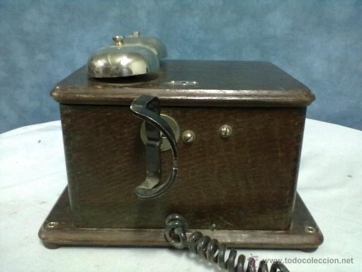 Teléfonos: TELEFONO ESTACION TREN STANDAR ELECTRICA MADRID MAGNETO FERROCARRIL - Foto 7 - 53903128