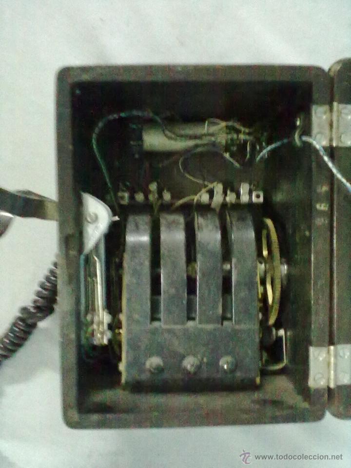 Teléfonos: TELEFONO ESTACION TREN STANDAR ELECTRICA MADRID MAGNETO FERROCARRIL - Foto 8 - 53903128