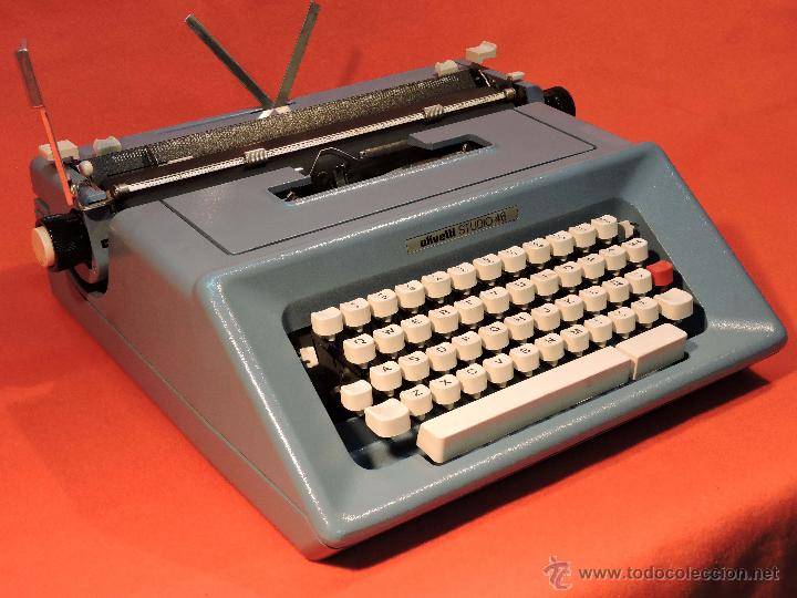 MÁQUINA DE ESCRIBIR OLIVETTI STUDIO 46 (Antigüedades - Técnicas - Máquinas de Escribir Antiguas - Olivetti)