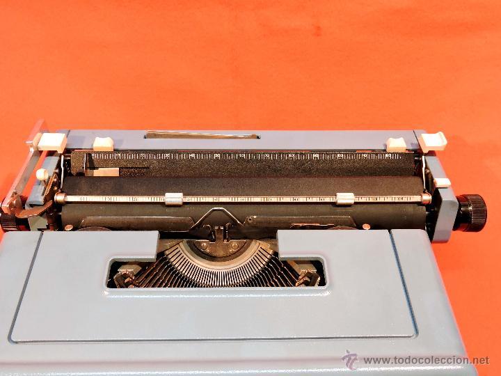 Antigüedades: MÁQUINA DE ESCRIBIR OLIVETTI STUDIO 46 - Foto 6 - 53940064