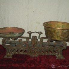 Antigüedades: BALANZA PICO PATO.. .. PESO.. BASCULA.. 15 KG FI XIX / CO XX. Lote 269340288