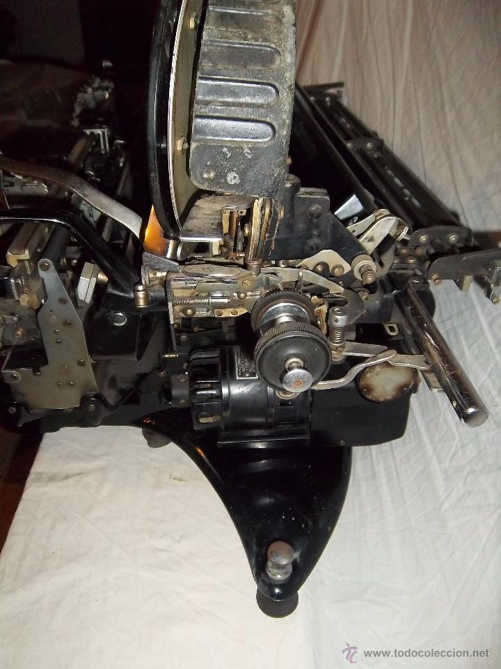 Antigüedades: Espectacular máquina de escribir alemana Continental Rapidus (Años 30) - Foto 4 - 54001608