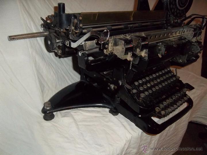 Antigüedades: Espectacular máquina de escribir alemana Continental Rapidus (Años 30) - Foto 7 - 54001608