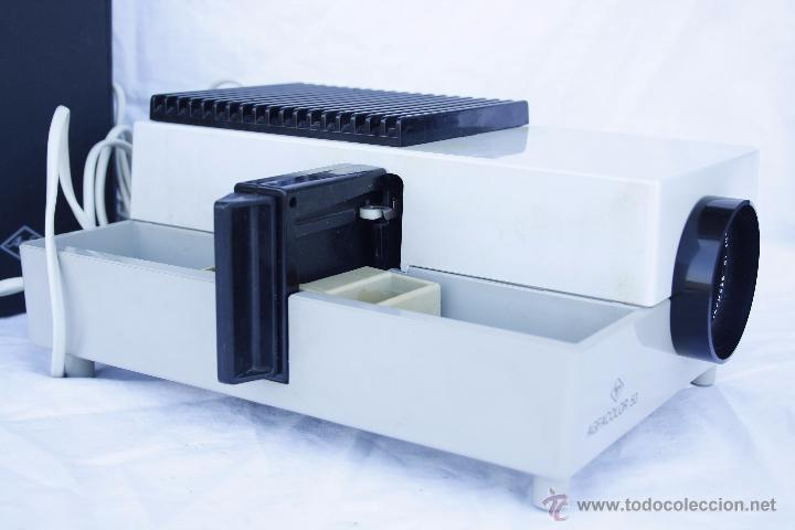 Antigüedades: Proyector AGFA - Agfacolor 50 - Con óptica AGOMAR 85 mm - Made in Germany - Foto 3 - 54049961