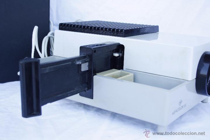 Antigüedades: Proyector AGFA - Agfacolor 50 - Con óptica AGOMAR 85 mm - Made in Germany - Foto 4 - 54049961