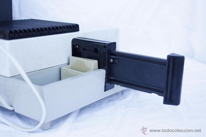 Antigüedades: Proyector AGFA - Agfacolor 50 - Con óptica AGOMAR 85 mm - Made in Germany - Foto 6 - 54049961