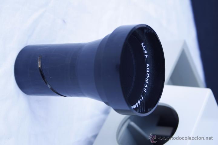 Antigüedades: Proyector AGFA - Agfacolor 50 - Con óptica AGOMAR 85 mm - Made in Germany - Foto 14 - 54049961