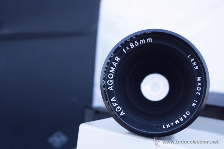 Antigüedades: Proyector AGFA - Agfacolor 50 - Con óptica AGOMAR 85 mm - Made in Germany - Foto 15 - 54049961