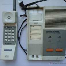 Teléfonos: TELÉFONO ANTIGUO CON SALIDA PARA AURICULARES. ES DE LOS PRIMEROS QUE SALIERON AL MERCADO VER FOTOS.. Lote 54063492