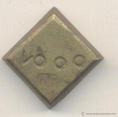 Antigüedades: PESA VALOR VOOO PESO: 27,1 GRAMOS MARCA: 16. Lote 54066822