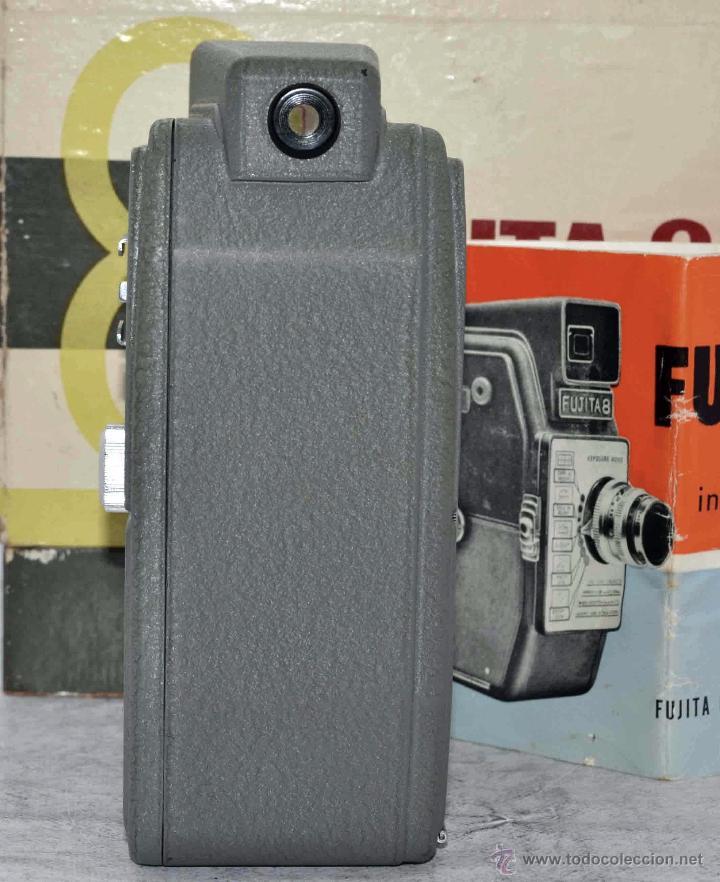 Antigüedades: GRAN CALIDAD..CAMARA DE CINE DE 8 mm..FUJITA 8+CAJA+MANUAL..JAPON 1961..MUY BUEN ESTADO..FUNCIONA - Foto 8 - 54096141
