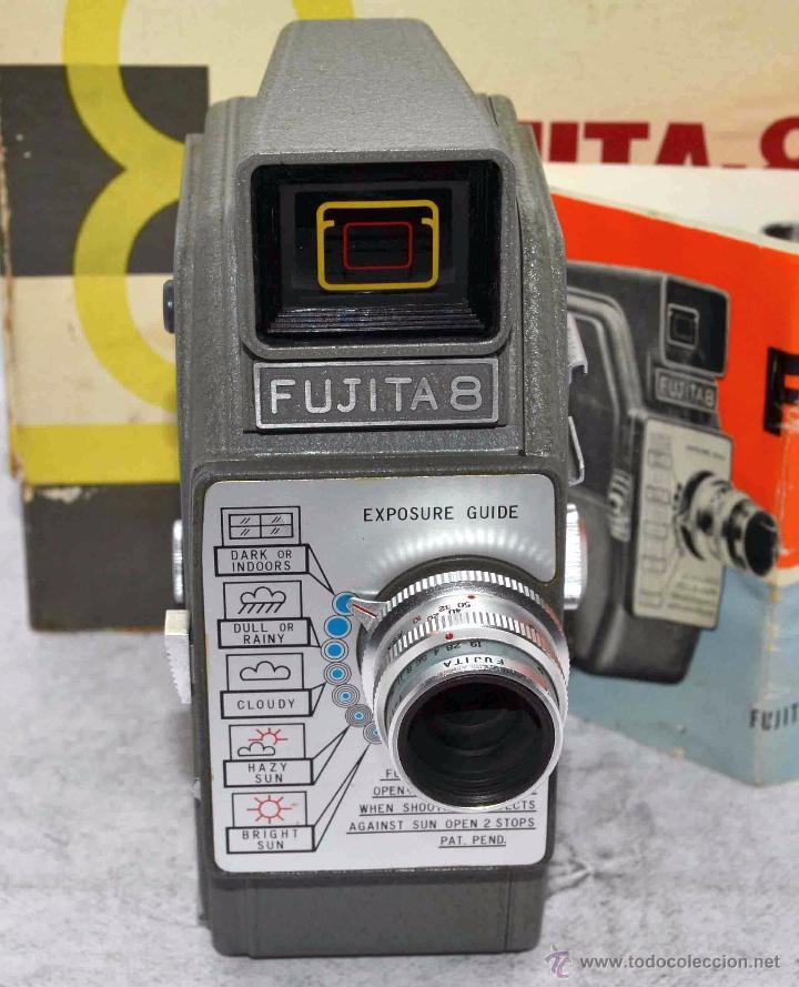 Antigüedades: GRAN CALIDAD..CAMARA DE CINE DE 8 mm..FUJITA 8+CAJA+MANUAL..JAPON 1961..MUY BUEN ESTADO..FUNCIONA - Foto 12 - 54096141