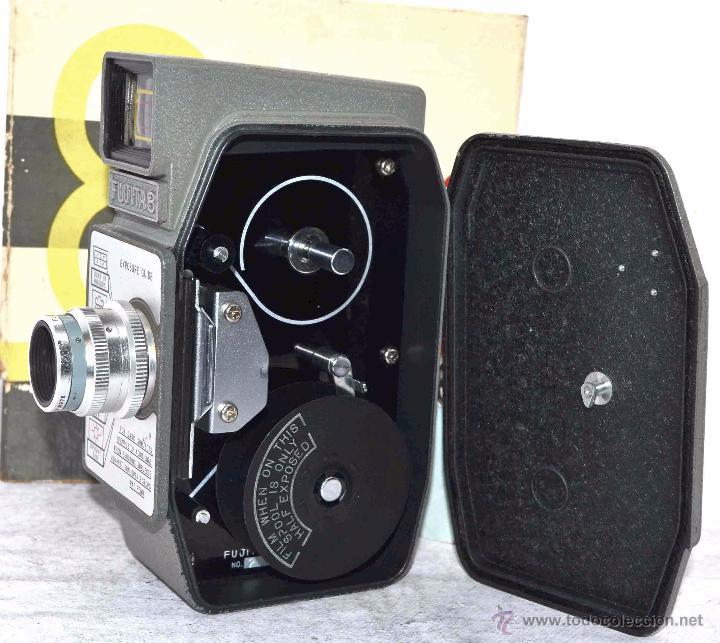 Antigüedades: GRAN CALIDAD..CAMARA DE CINE DE 8 mm..FUJITA 8+CAJA+MANUAL..JAPON 1961..MUY BUEN ESTADO..FUNCIONA - Foto 15 - 54096141