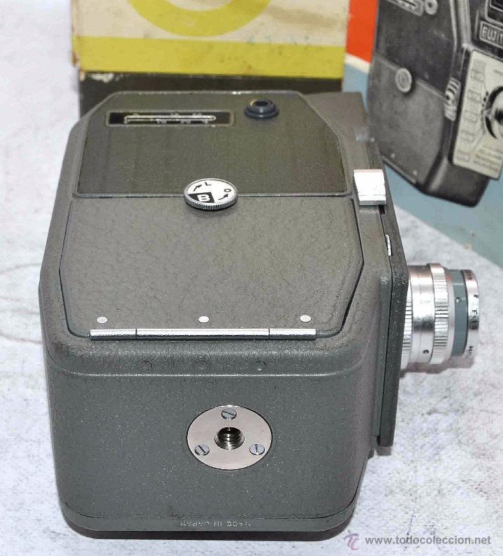 Antigüedades: GRAN CALIDAD..CAMARA DE CINE DE 8 mm..FUJITA 8+CAJA+MANUAL..JAPON 1961..MUY BUEN ESTADO..FUNCIONA - Foto 20 - 54096141