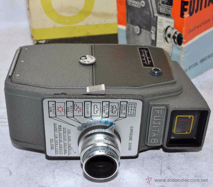 Antigüedades: GRAN CALIDAD..CAMARA DE CINE DE 8 mm..FUJITA 8+CAJA+MANUAL..JAPON 1961..MUY BUEN ESTADO..FUNCIONA - Foto 21 - 54096141