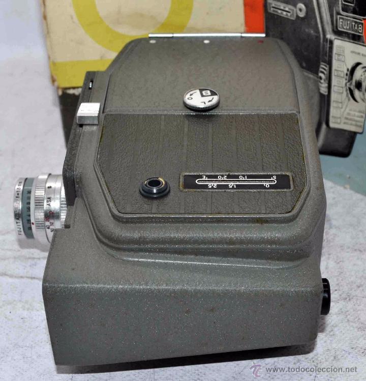 Antigüedades: GRAN CALIDAD..CAMARA DE CINE DE 8 mm..FUJITA 8+CAJA+MANUAL..JAPON 1961..MUY BUEN ESTADO..FUNCIONA - Foto 22 - 54096141