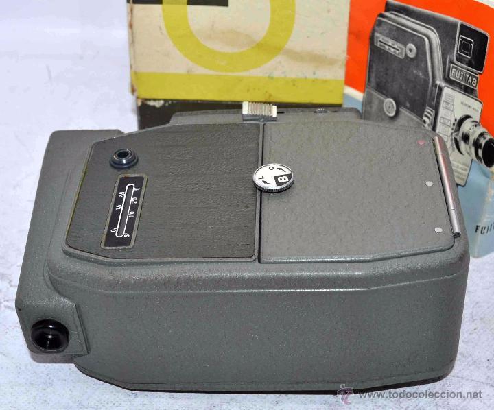 Antigüedades: GRAN CALIDAD..CAMARA DE CINE DE 8 mm..FUJITA 8+CAJA+MANUAL..JAPON 1961..MUY BUEN ESTADO..FUNCIONA - Foto 23 - 54096141