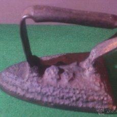 Antigüedades: ANTIGUA PLANCHA DE HIERRO, ORIGINAL.. Lote 54170769