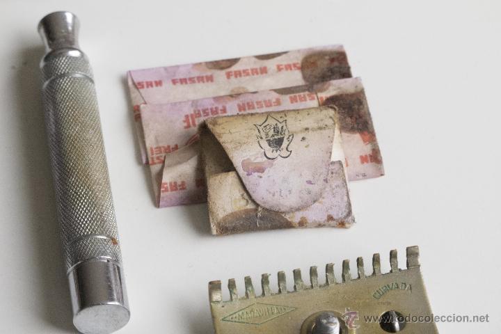 Antigüedades: Maquinilla de afeitar Maravilla - Caja Original - Foto 6 - 54174686