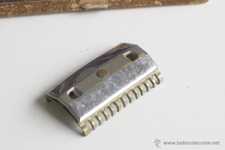 Antigüedades: Maquinilla de afeitar Maravilla - Caja Original - Foto 8 - 54174686