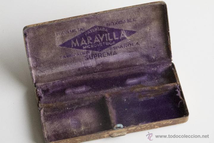 Antigüedades: Maquinilla de afeitar Maravilla - Caja Original - Foto 9 - 54174686