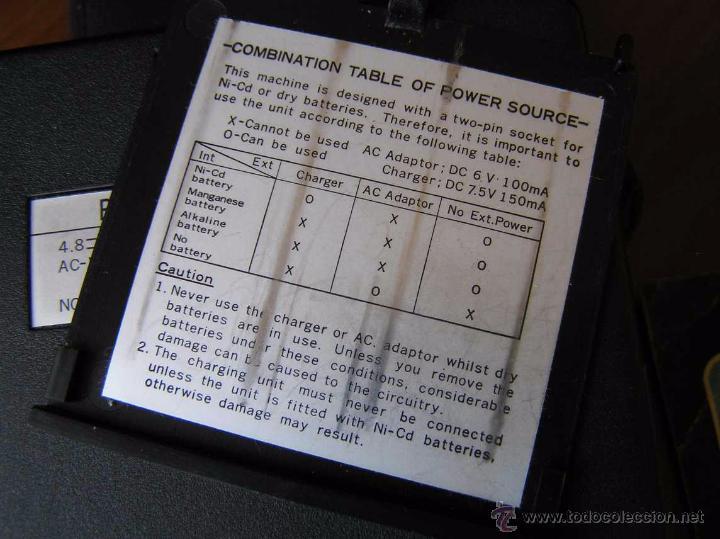 Antigüedades: CALCULADORA PRINZTRONIC SR88M AÑOS 70 - CALCULATOR TASCHENRECHNER - Foto 21 - 54178402
