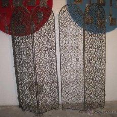 Antigüedades: BIOMBO ANTIGUO DE HIERRO. Lote 54183162