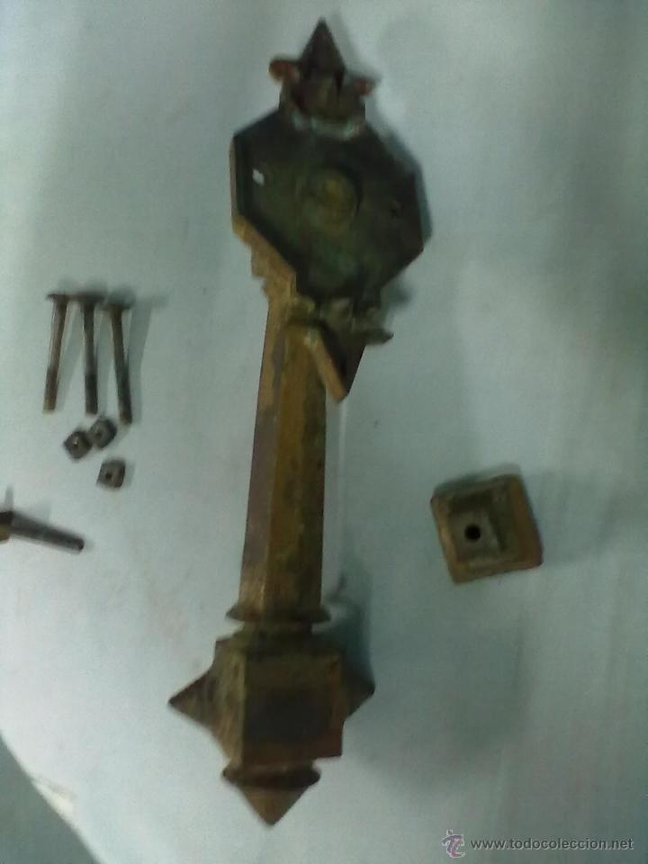 Antigüedades: ALDABA HIERRO XIX/XX - Foto 2 - 54268553