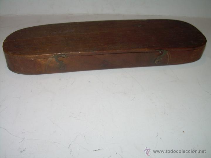 Antigüedades: MUY ANTIGUA Y BONITA BALANZA HIERRO FORJADO PARA PESAR MONEDAS DE ORO Y PLATA. - Foto 6 - 54269479