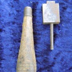 Antigüedades: ANTIGUA HERRAMIENTA DE GUARNICIONERO, TALABARDERO. ASENTADOR. Lote 54269708