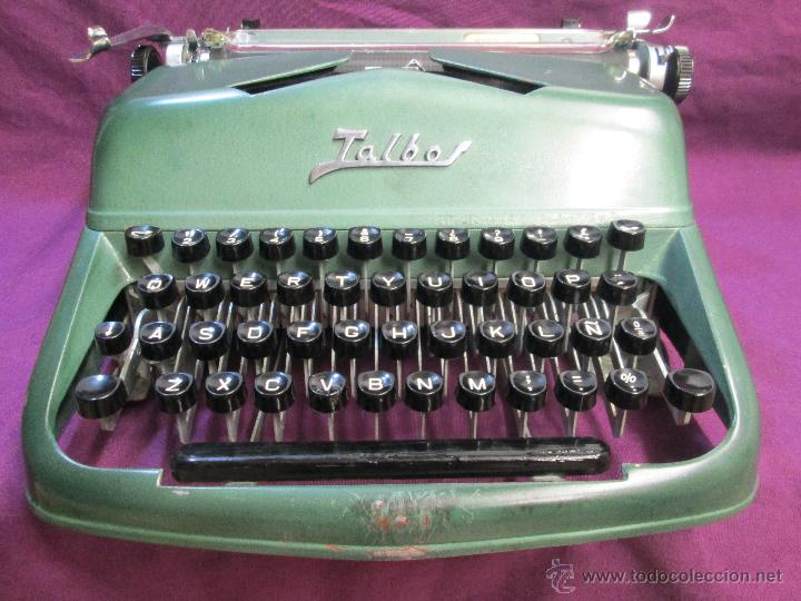 ANTIGUA MÁQUINA DE ESCRIBIR TALBOS MODELO 90. FABRICACIÓN ESPAÑOLA AÑOS 50-60 - FUNCIONA. (Antigüedades - Técnicas - Máquinas de Escribir Antiguas - Otras)