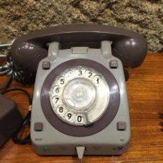 Teléfonos: TELÉFONO MARRÓN Y GRIS ALTAVOZ EXTERIOR. Lote 54370944