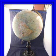 Antigüedades: BOLA DEL MUNDO GLOBO TERRAQUEO ANTIGUO. Lote 54391304
