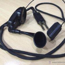 Teléfonos: AURICULARES DE CENTRALITA, CON ENCHUFE Y MICRO.. Lote 54394982