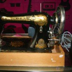Antigüedades: MÁQUINA DE COSER SINGER. Lote 54407655