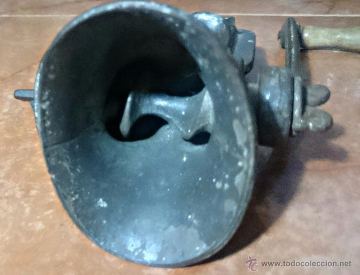 Antigüedades: PICADORA DE CARNE. NATIONAL Nº 25 BRITISH MADE. DIFICIL DE ENCONTRAS. MODELO MUY RARO - Foto 6 - 54431714