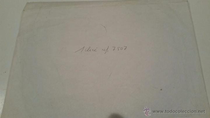 Antigüedades: PLANCHA CLICHÉ NEGATIVO DE METAL VIÑETA PARA DIARIO SUR MALAGA DIBUJO DE DISEÑO ORIGINAL - 17 X 14 - Foto 4 - 54477079