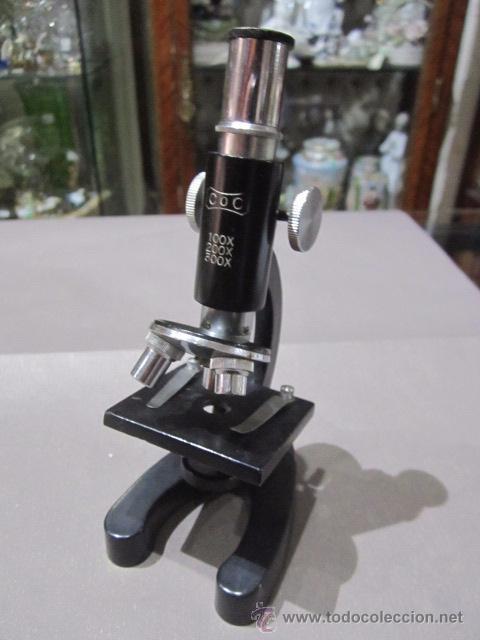 Antigüedades: Microscopio COC. 15 cms. altura. - Foto 2 - 54487410