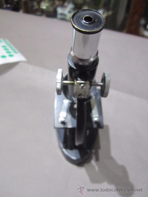 Antigüedades: Microscopio COC. 15 cms. altura. - Foto 4 - 54487410