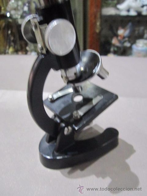 Antigüedades: Microscopio COC. 15 cms. altura. - Foto 5 - 54487410