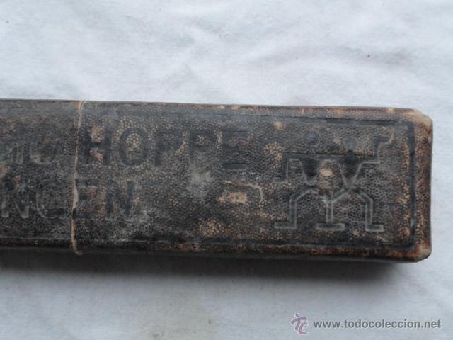 Antigüedades: ANTIGUA NAVAJA DE AFEITAR SOLINGEN CON CAJA. - Foto 3 - 54562767