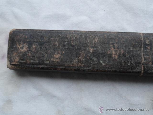 Antigüedades: ANTIGUA NAVAJA DE AFEITAR SOLINGEN CON CAJA. - Foto 4 - 54562767