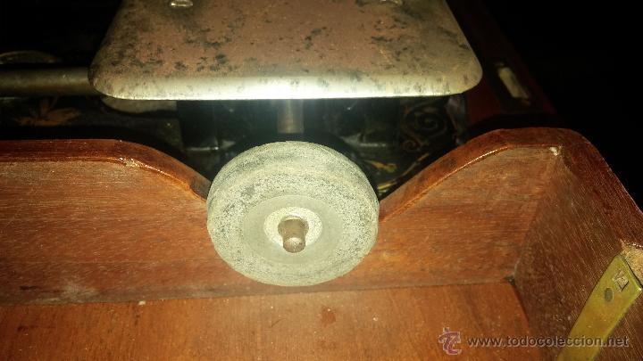 Antigüedades: MAQUINA DE COSER WHEELER & WILSON - Foto 8 - 25088206