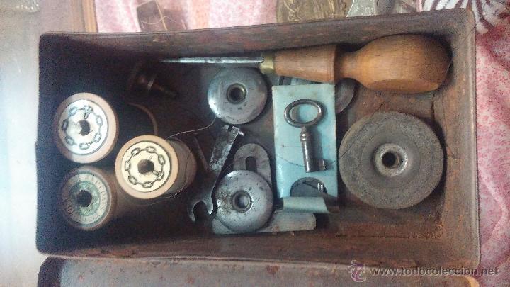 Antigüedades: MAQUINA DE COSER WHEELER & WILSON - Foto 9 - 25088206