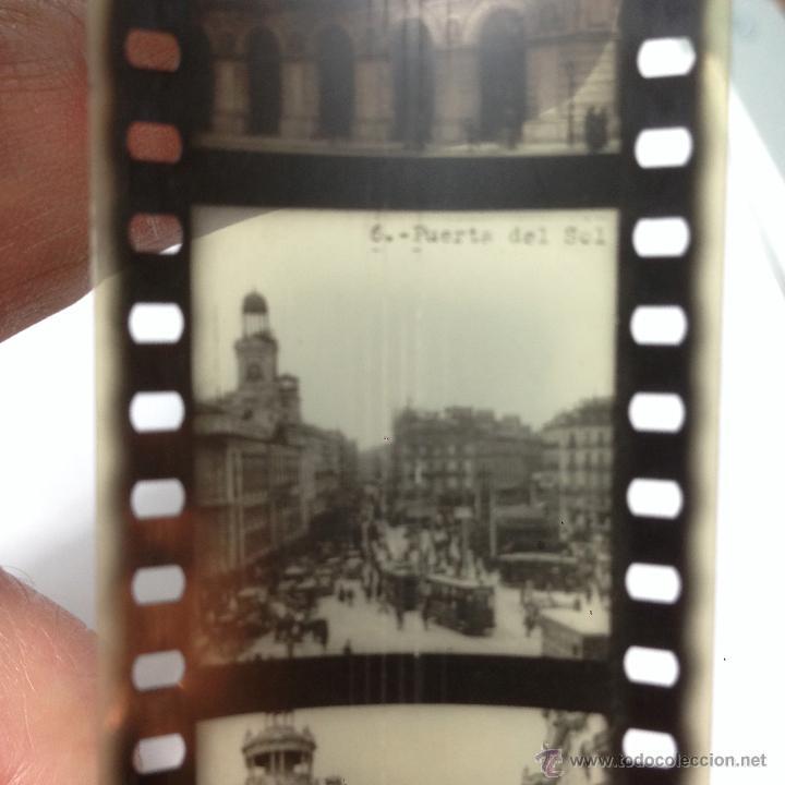 Antigüedades: RARO CINEMATÓGRAFO - LINTERNA MÁGICA LA ENSEÑANZA POR LA IMAGEN Madrid + 15 PELICULAS - Foto 22 - 54580852