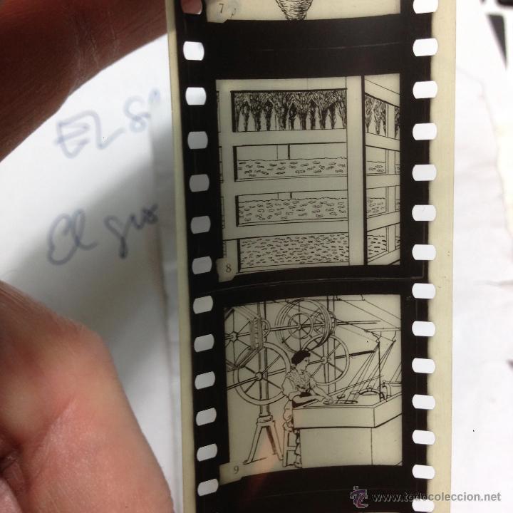 Antigüedades: RARO CINEMATÓGRAFO - LINTERNA MÁGICA LA ENSEÑANZA POR LA IMAGEN Madrid + 15 PELICULAS - Foto 24 - 54580852
