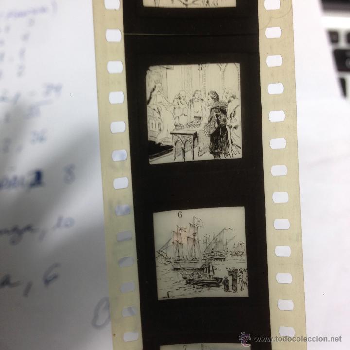Antigüedades: RARO CINEMATÓGRAFO - LINTERNA MÁGICA LA ENSEÑANZA POR LA IMAGEN Madrid + 15 PELICULAS - Foto 25 - 54580852